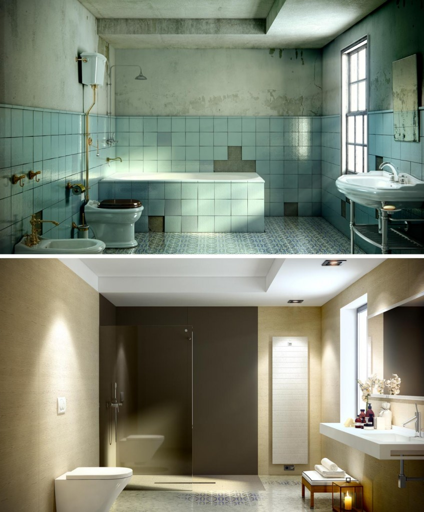 Specialised in virtual reality photography we offer a cgi for Bathroom remodel simulator